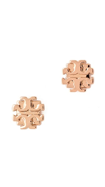 Tory burch small t logo stud earrings shopbop for Tory burch jewelry amazon