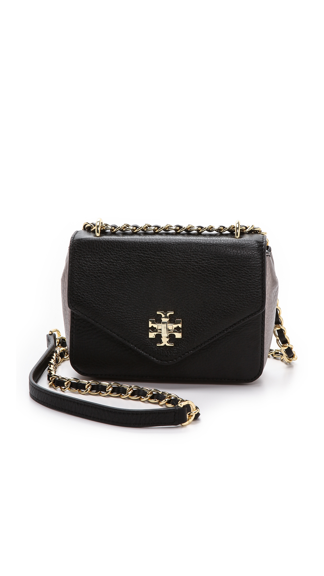 aef98278876f ... leather black gold hardware e2ac4 6f9a3  release date tory burch kira  mini chain bag shopbop 3eaef cf787