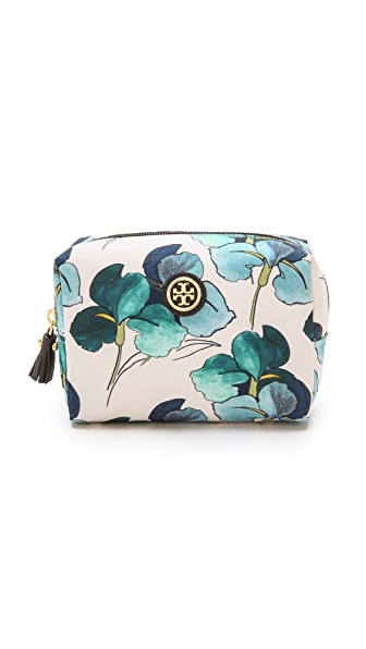 Tory Burch Printed Brigitte Cosmetic Case