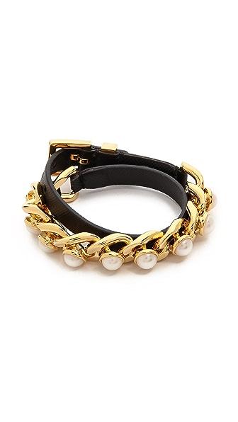 Tory Burch Winchel Chain Bracelet