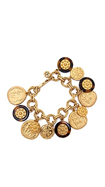 Tory Burch Shiloh Charm Bracelet