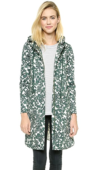 Tory Burch Shelley Hooded Coat