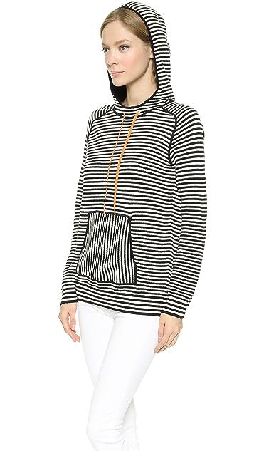 Tory Burch Geraldine Hooded Sweater
