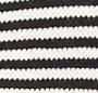 Med Navy/Ivory Stripe