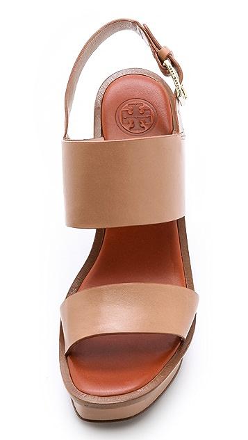 Tory Burch Lexington Wedge Sandals