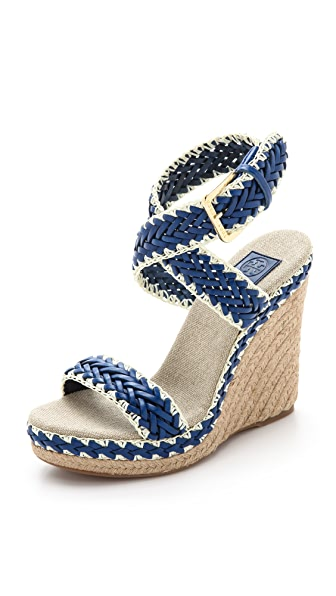 Tory Burch Lilah Wedge Sandals
