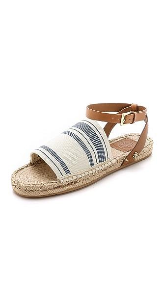 Tory Burch Elastic Espadrille Sandals