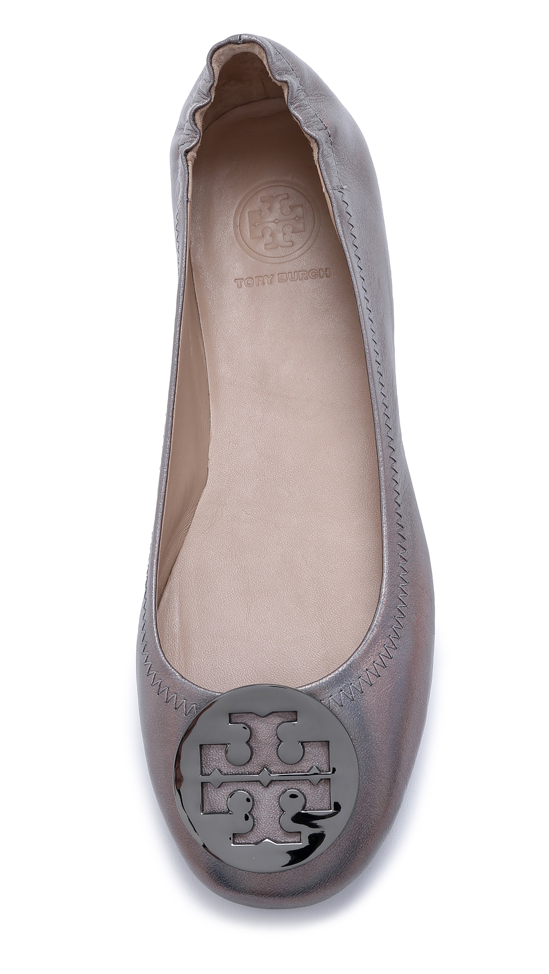 d6c16f20501 Tory Burch Minnie Travel Ballet Flats