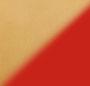 Poppy Red/Shiny Gold