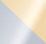 New Ivory/Shiny Gold