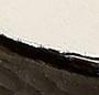 Black/New Ivory/Shiny Brass
