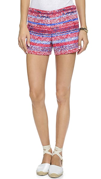 Tory Burch Soft Silk Short Shorts