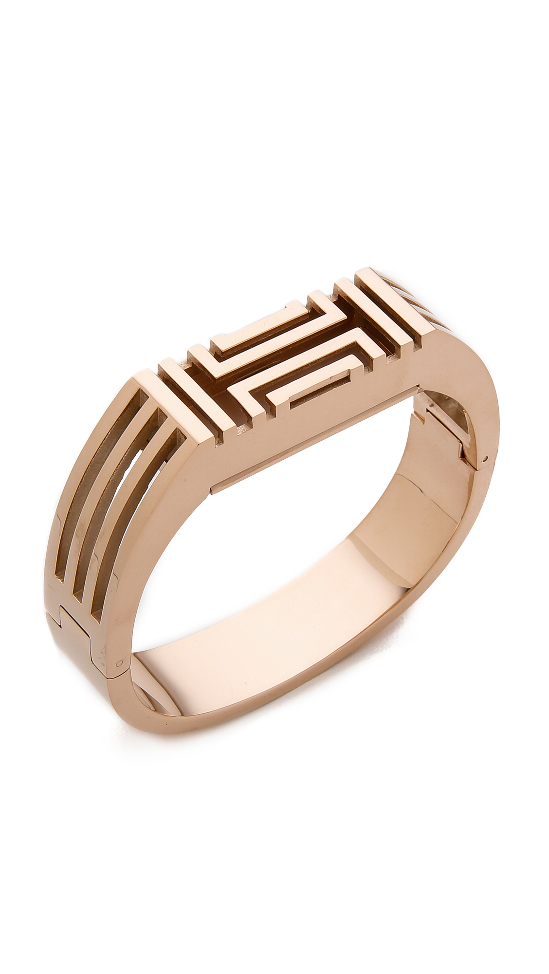 bdd21c0cf1e Tory Burch Tory Burch for Fitbit Metal Hinged Bracelet