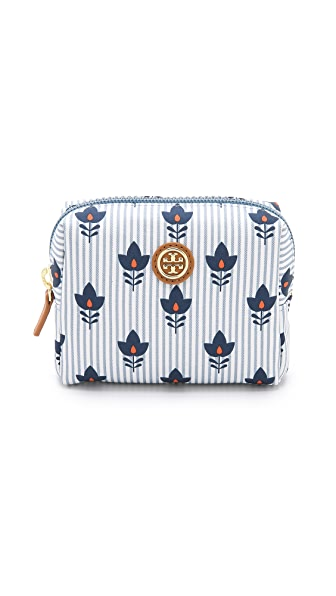Tory Burch Printed Brigitte Mini Cosmetic Case