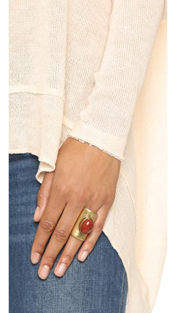 Tory Burch Stone Statement Ring