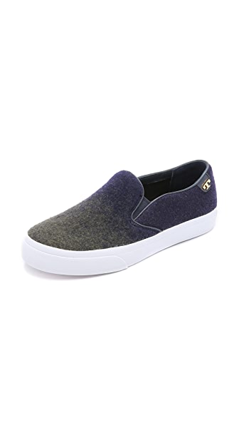 Kupi Tory Burch online i prodaja Tory Burch Stardust Slip On Sneakers Navy/Olive haljinu online