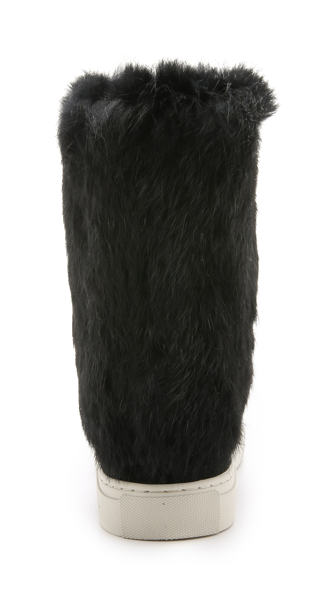 8769a2cf72c6 Tory Burch Anjelica Suede Fur Boots