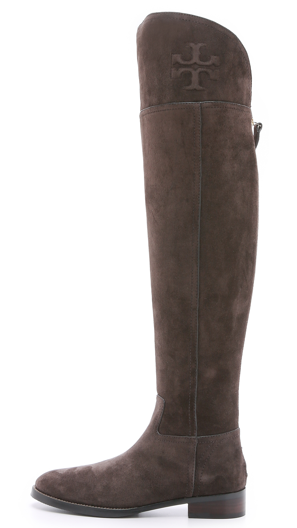 e42d10d46 Tory Burch Simone Suede Over the Knee Boots
