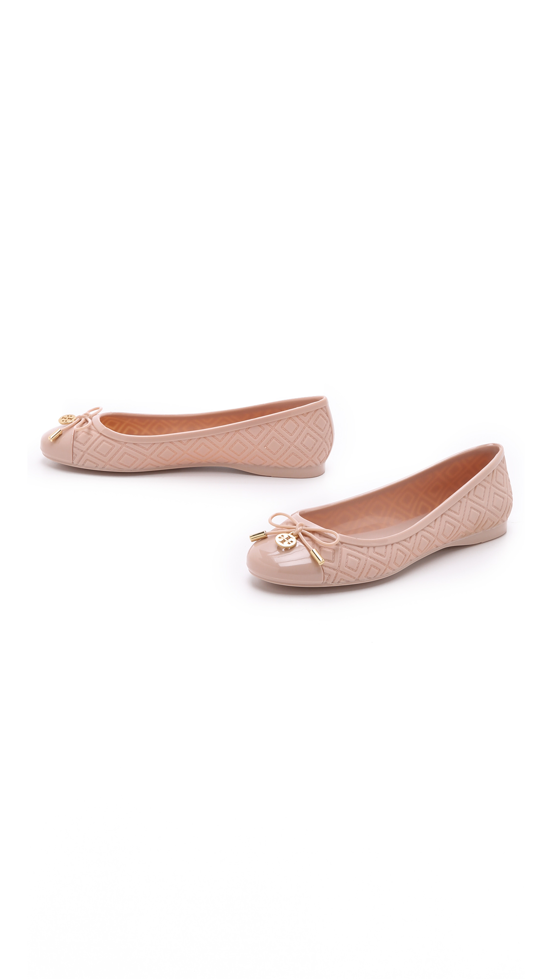 2642378334a599 Tory Burch Jelly Ballet Flats