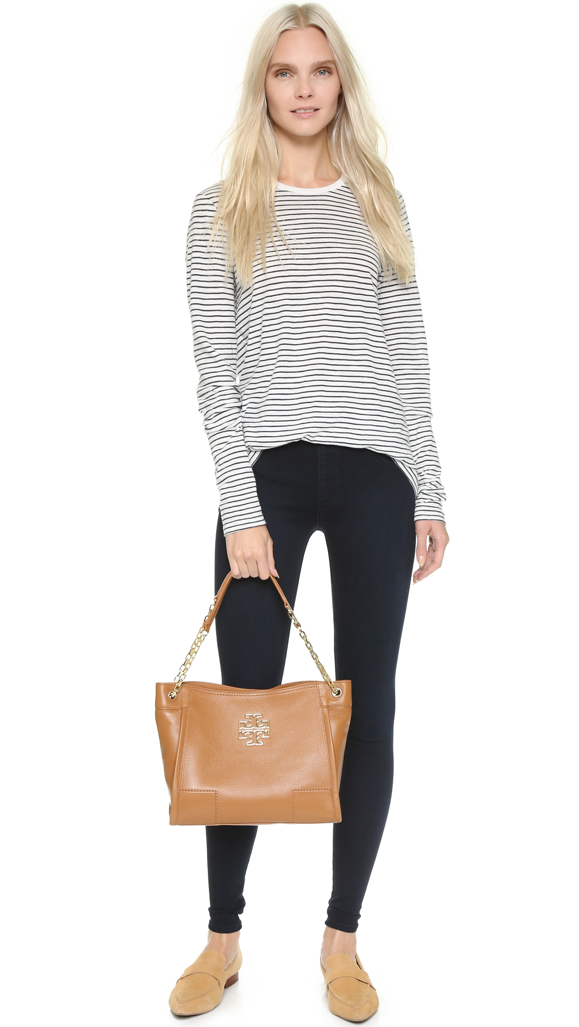 53444a53a131 Tory Burch Britten Small Slouchy Tote