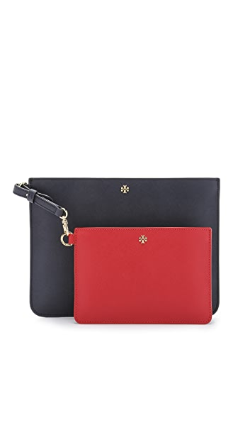 Tory Burch York Duo Pouch