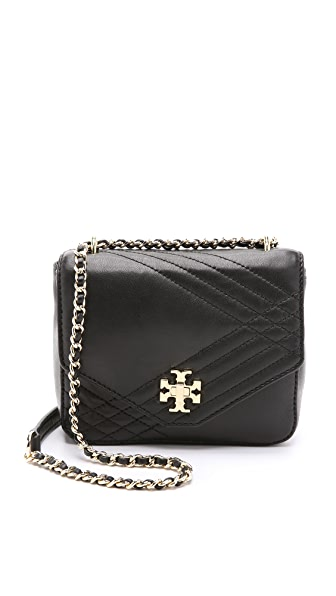 Tory Burch Mini Kira Quilted Cross Body Bag