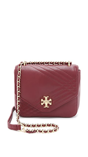 Tory Burch Mini Kira Quilted Cross Body Bag