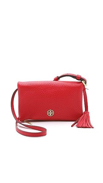 Tory Burch Robinson Mini Fold Over Bag