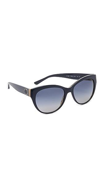 Tory Burch Full Rim Cat Eye Sunglasses