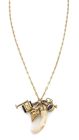 Tory burch charm pendant necklace shopbop for Tory burch jewelry amazon