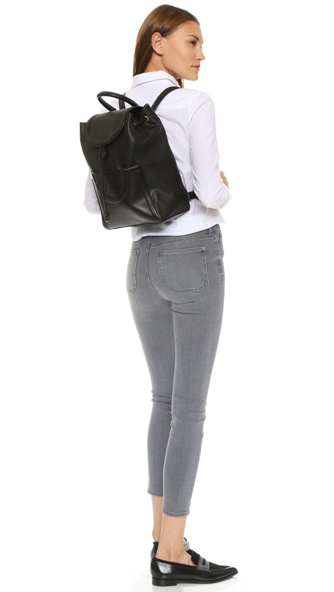 5e0cc09f8b22 Tory Burch Serif T Backpack