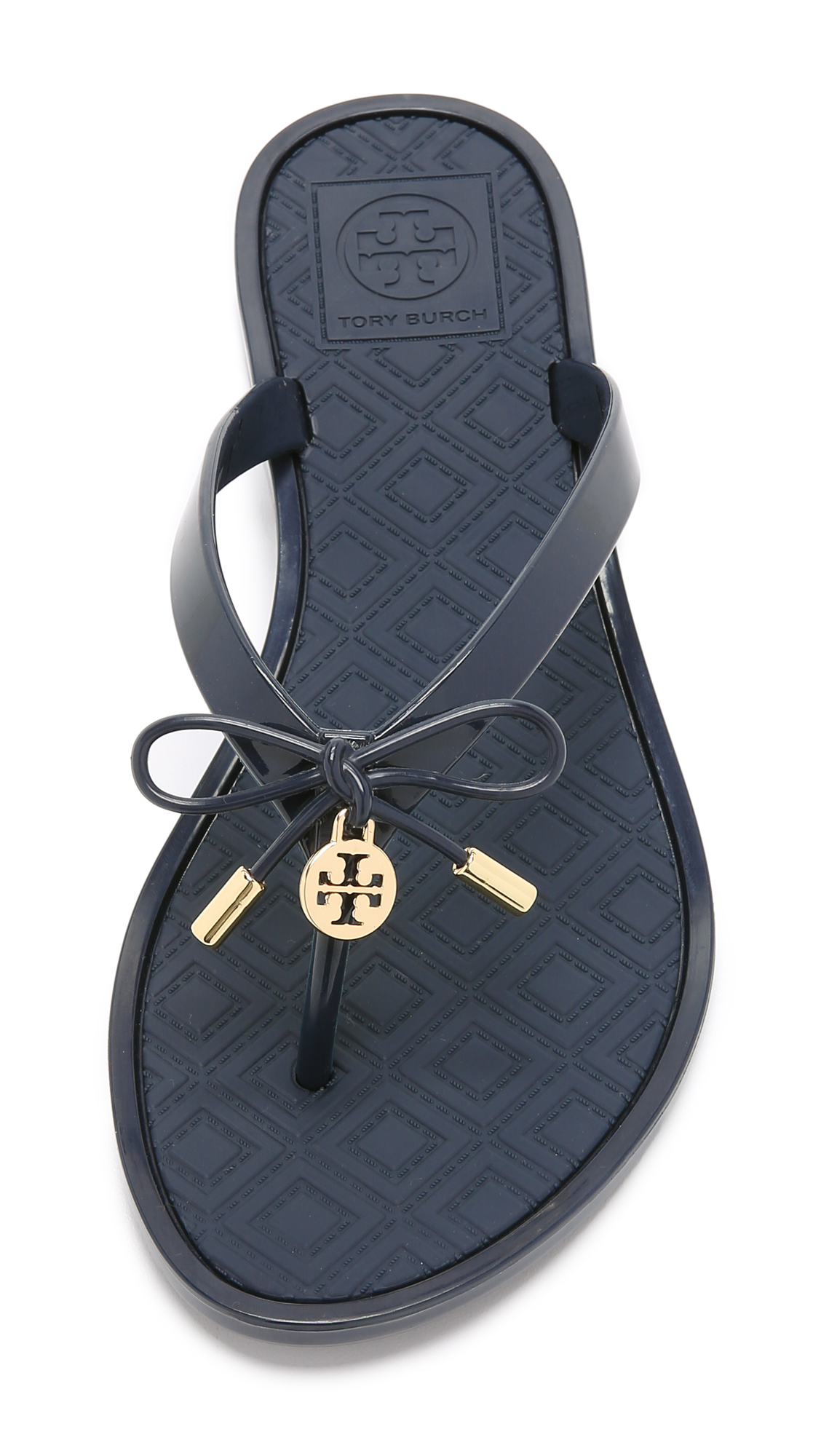 089e8d6cf25 Tory Burch Jelly Bow Thong Sandals