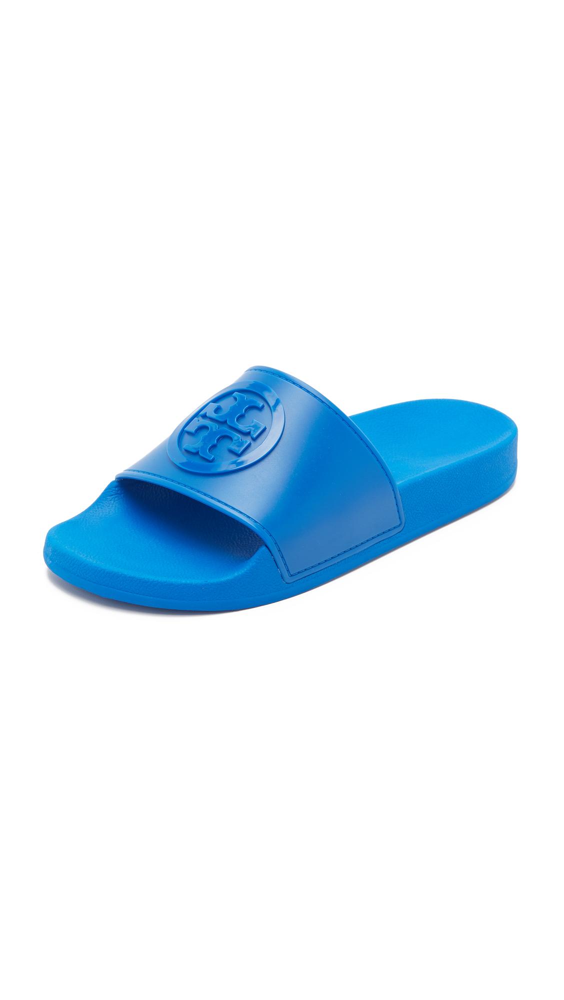 334279ee6c0007 Tory Burch Jelly Flat Slides