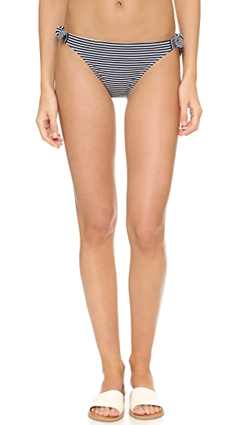 Tory Burch Stripe Tie Bikini Bottom
