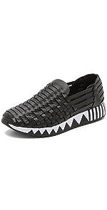 Jupiter Huarache Slip On Sneakers                Tory Burch