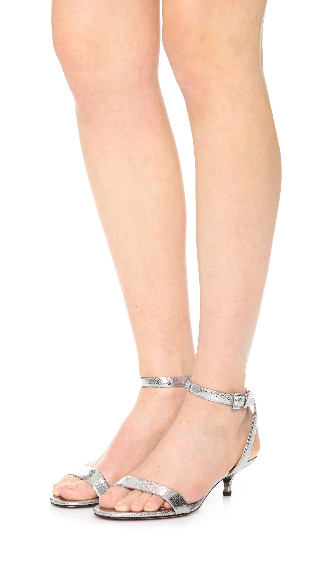 df10c312446 Tory Burch Elana Metallic Sandals