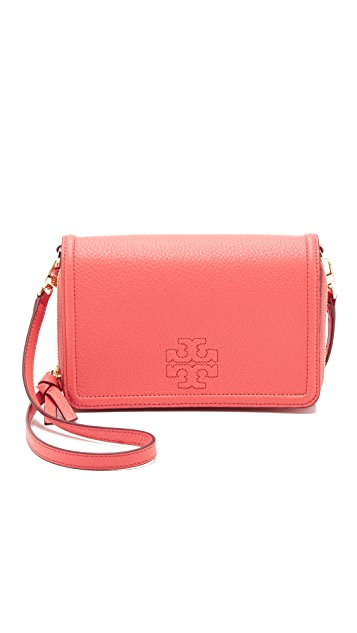 Tory Burch Thea Flat Wallet Cross Body Bag