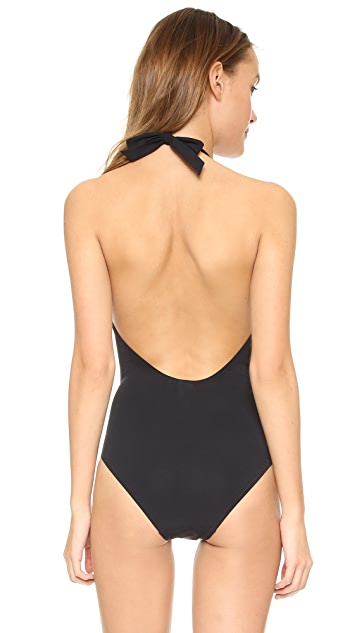 Tory Burch Laurito Plunge One Piece