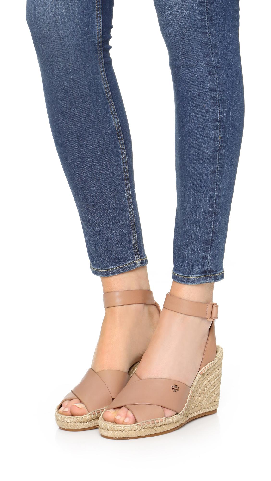 2df8cd545 Tory Burch Bima Wedge Espadrille Sandals