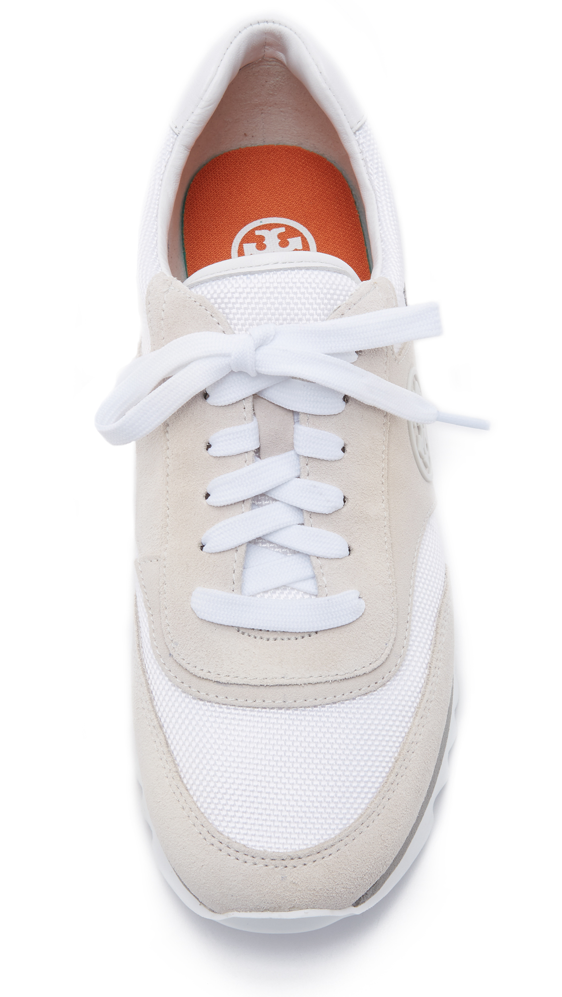 df80c826de64 Tory Burch Sawtooth Logo Trainer Sneakers