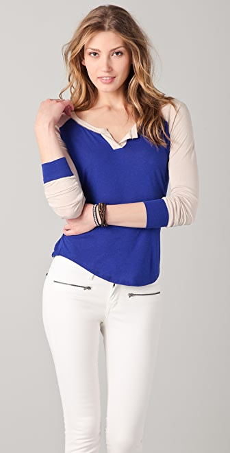 Townsen Colorblock Baseball Top
