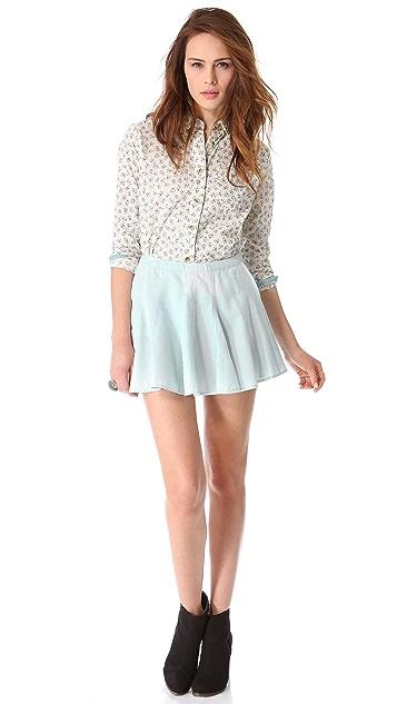 Townsen Denim Skirt