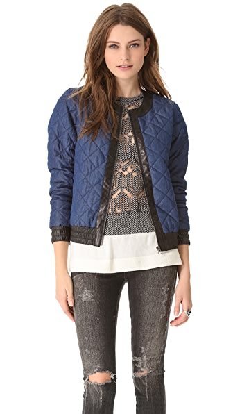 Townsen Quilted Denim Jacket