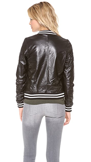 Townsen Reversible Leather Jacket