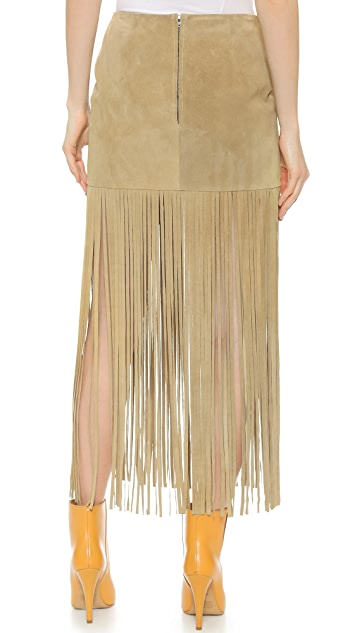 ThePerfext Mimi Fringe Skirt