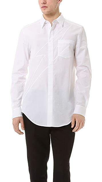 3.1 Phillip Lim Lightning Button Up with Long Sleeves