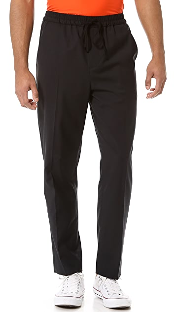 3.1 Phillip Lim Clean Break Trousers with Drawstring Waist