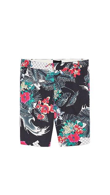 3.1 Phillip Lim Slim Fit Tapered Shorts