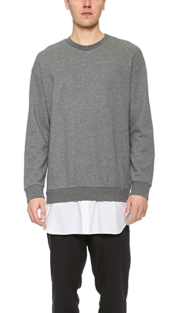 3.1 Phillip Lim Pullover with Shirttail