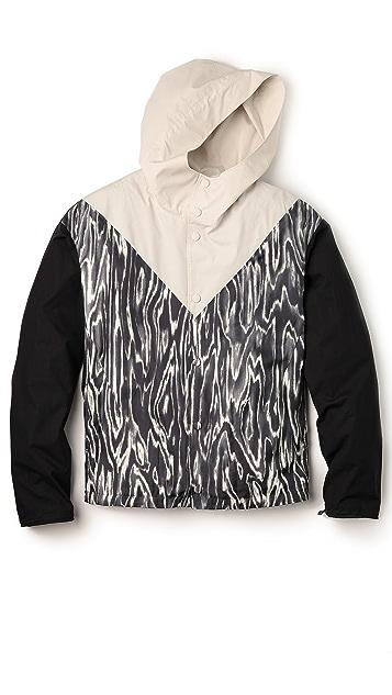 3.1 Phillip Lim Wood Grain Silk Twill Jacket